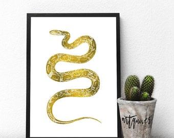 Animal Art, Snake Art, Snake Poster, Artsy, Snake, Poster, Trendy Wall Designs, Large Wall Art, Trendy-art, Framed art, framed prints, cool