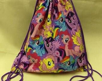 My Little Pony Draw String Back Pack DDLG Little Girl MDLG Baby ABDL