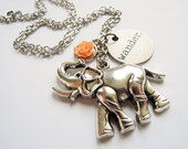 Elephant Charity Lucky Wander Friend Strength Necklace TUMAREN