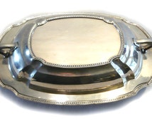 SALE! PAIRPOINT Silver Plate Covered Vegetable Casserole Dish EPNS 04247 12 W.M Mounts