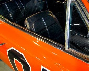 1968 Dodge Charger General Lee PCar Photography, Automotive, Auto Dealer, Muscle, Sports Car, Mechanic, Boys Room, Garage, Dealership Art