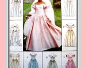 ROMANTIC WEDDING GOWNS-Sewing Pattern-Eight Styles-Off the Shoulder-Sweetheart Neckline-Sleeve Options-Lace-Bows-Uncut-Size 16-20-Rare