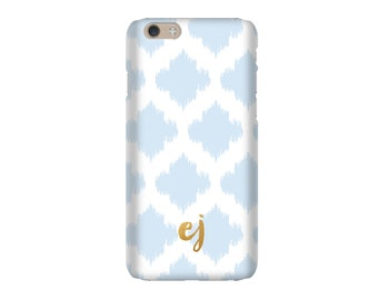 Monogrammed iPhone 6s / iPhone 6 Case - IKAT POLKA DOT Collection