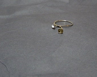Sterling Silver Stacking Contemporary Ring