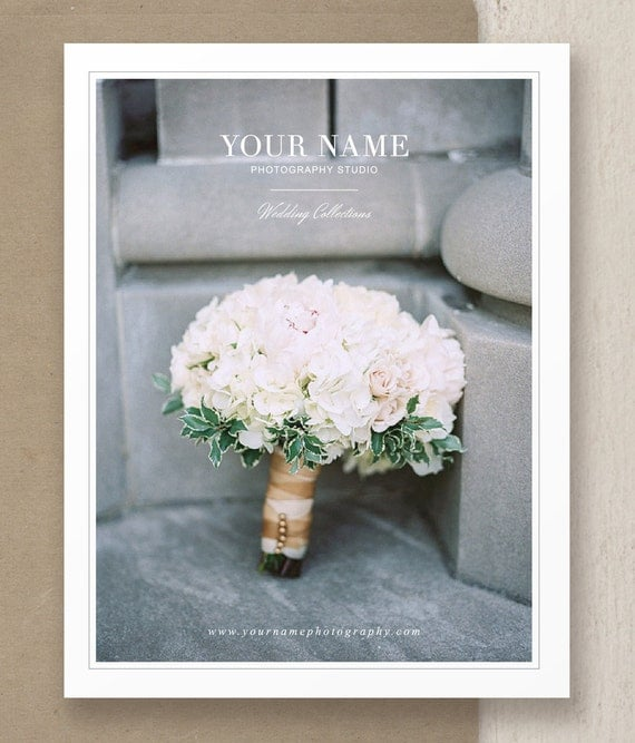 Wedding Photography Welcome Packet: Wedding Magazine Template For Photographers & Planners