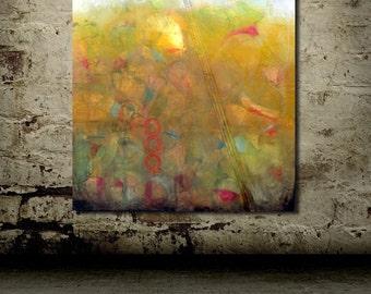 VERY LARGE ORIGINAL Abstract Oil Painting // Contemporary Wall Art // Yellow Art // Unique Modern Art // Large Canvas Art // Modern Art