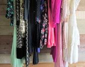 Bulk Lot 20 Vintage Dresses 1940s-90s Formals