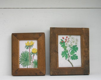 Photographic Contact Frames in Wood and Brass