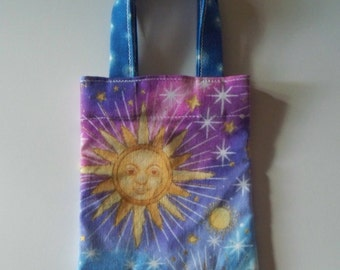 Gift Card Holder - Let The Sun Shine - Mini Fabric Tote bag