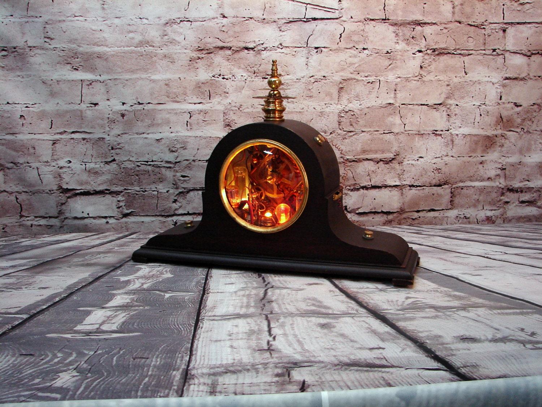 Steampunk Lamp Assemblage Art