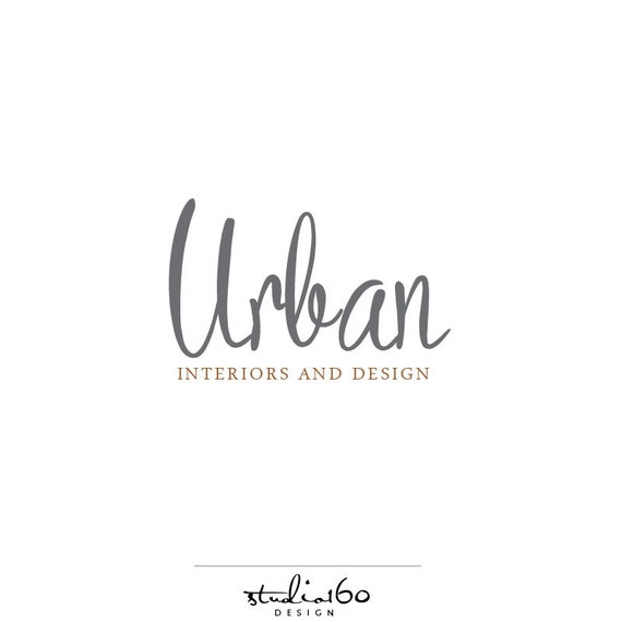 Custom logo design urban logo interior design logo for Best interior design names