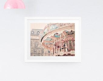 Paris Carousel Print - Paris photography