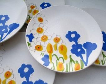 Vera Mikasa Fieldflowers Dessert Plates - Set of 6