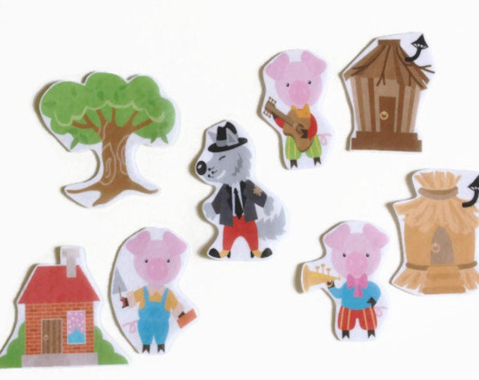 Felt Board Sets Waldorf Toys - Toddler Busy Board, Preschool Toys, Toys for 1 Year Old, Felt Stories, Toddler Gift, Flannel Board Stories