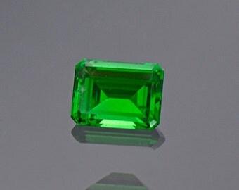 Electric Green Tsavorite Garnet Gemstone from Kenya 0.56 cts.