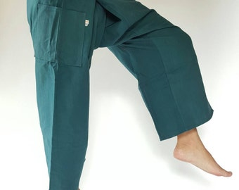 FP0002 Thai fisherman/Yoga are pants Free-size: Will fit men or woman