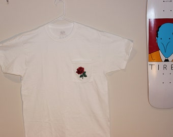 ROSE PATCH POCKET-T