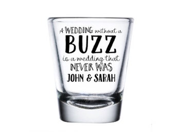 Wedding Shot Glasses, Custom Shot Glass, Personalized Wedding Favor, Monogram Shot Glass, Bachelor Party, Birthday Gift, Alcohol Shot