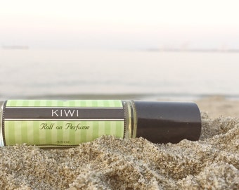 KIWI Perfume oil,  25% Off Sale on Your FIRST purchase, Birthday Gift, available in spray or roll on perfume
