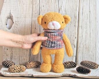 Bear - Plush Teddy Bear - Stuffed Bear - Stuffed Toy Animal - Plush Toy - Cute Soft Toy - Gift for Children