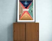 Ubik (Philip K. Dick) science fiction poster