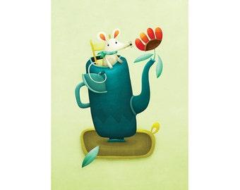 Mouse Postcard