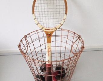 Vintage wooden Pinguin Tennis Racket