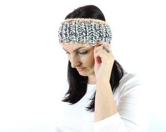 Simple Knit Headband, Hudson's Bay Classic Ear Warmer, Rainbow Ear Warmer