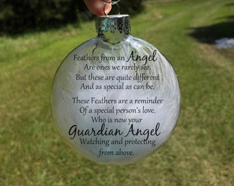 In Memory Ornament Personalized Christmas ornament