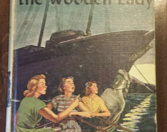 Vintage Nancy Drew Mysteries #27 - The Secret of the Wooden Lady 1950