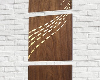 Flow decorative wall panel set - limited edition
