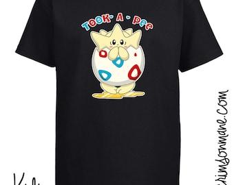 Tokepi Took-A-Pee Pokemon T-shirt