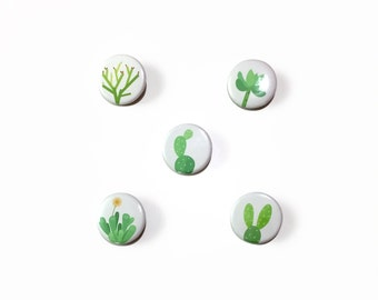 """Cactus & Succulent Buttons 