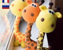 Amigurumi crochet pattern, crochet giraffe pattern amigurumi PDF pattern giraffe pattern, Instant download