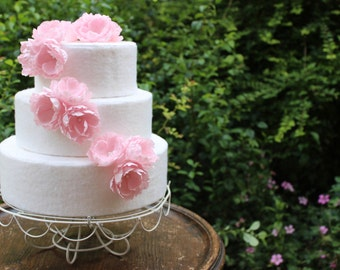 Wild Rose Wedding Cake Toppers Flower Topper