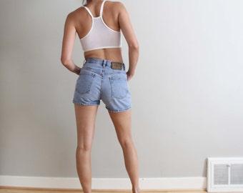 90s Calvin Klein high waist denim shorts, CK jeans, size S