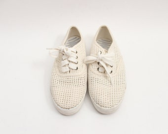 Woven Mesh 80s Tennis Shoes