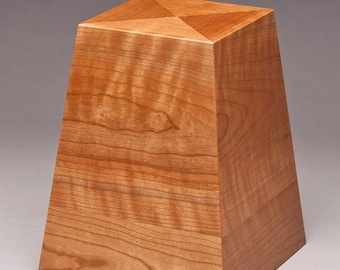 Cremation urn - Cherry Obelisk urn