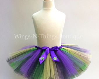 ADULT MARDI GRAS Tutu Skirt, Womans Costume, Party, New Orleans, Fleur De Lis, Women, Ladies, Teen, Party Favors, Dance