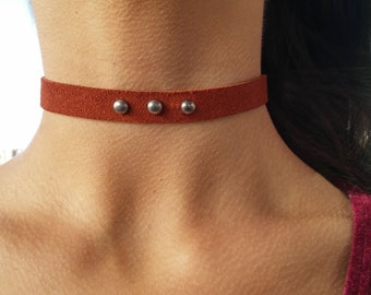 Yarid's Brown Choker Belt