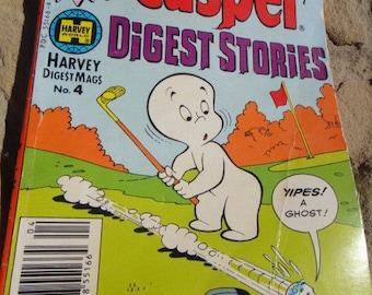 Vintage Harvey Digest Mags Casper Digest Stories Comic Book