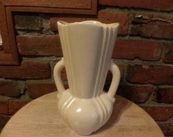 Bauer Vase, Bauer two handled vase, Bauer pottery, Vintage Bauer, Rare Bauer vase, Los Angeles Potteries