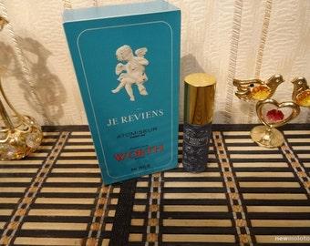 Je Reviens Worth 8ml. Perfume Vintage