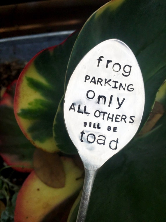 Frog Parking Only All Others Will Be Toad By Sweetthymedesign