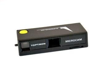 MICROCAM Supercolor Toptron / vintage micro camera box