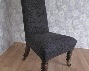 Original Victorian Prayer Chair (Prie Dieu)