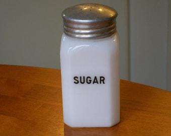McKee Glass Sugar Range Shaker 1930's