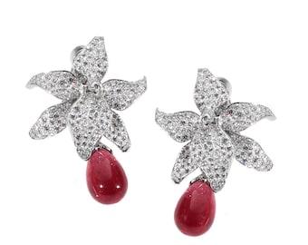 Cartier Caresse Diamond Earrings