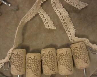 Wine Cork Necklace Hanger