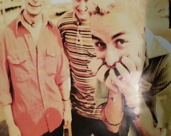 Green Day Group Rare Vintage Poster